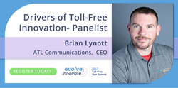 Brian Lynott | Drivers of Toll-Free Innovation Panelist