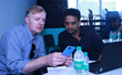 LinkedIn Co-Founder Allen Blue with SMV Green's Naveen Krishna