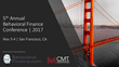 CMT Association Partners with BehavioralFinance.com to Produce Groundbreaking Investment Conference