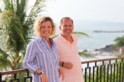 Kelli Carpenter & Gregg Kaminsky Founders of R Family Vacations