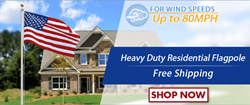 Heavy Duty Residential Flagpole
