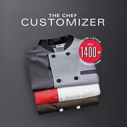 ChefUniforms Coat Customizer