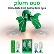 Plum Duo Personal Eye Wash Provides Immediate First Aid to Both Eyes