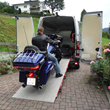 WM System Loading Ramps, motorcycle transportation