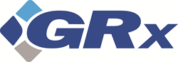 Logo for pharmaceutical returns provider GRx