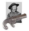 George Armstrong Custer's National Arms Company Deringer (Racker Collection), estimataed at $20,000-30,000.