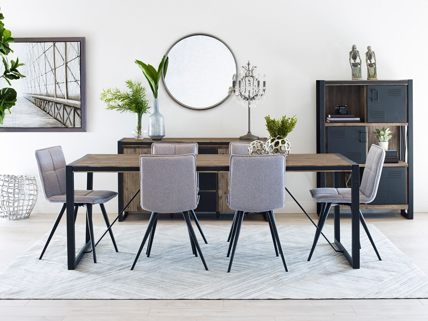 The Highest Quality, Top Name, On Trend Dining Room Furniture Is Available  On Parker Gwen.