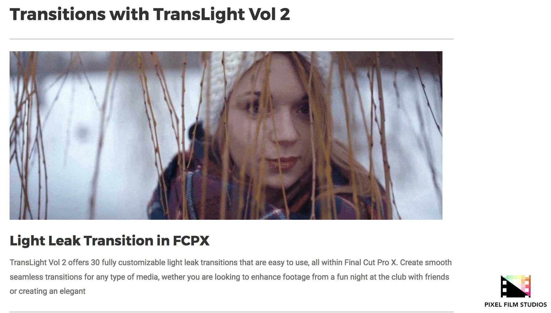 Pixel film Plugins