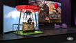 The VR Ride was designed to have a small enough footprint that it can easily be activated at trade shows.