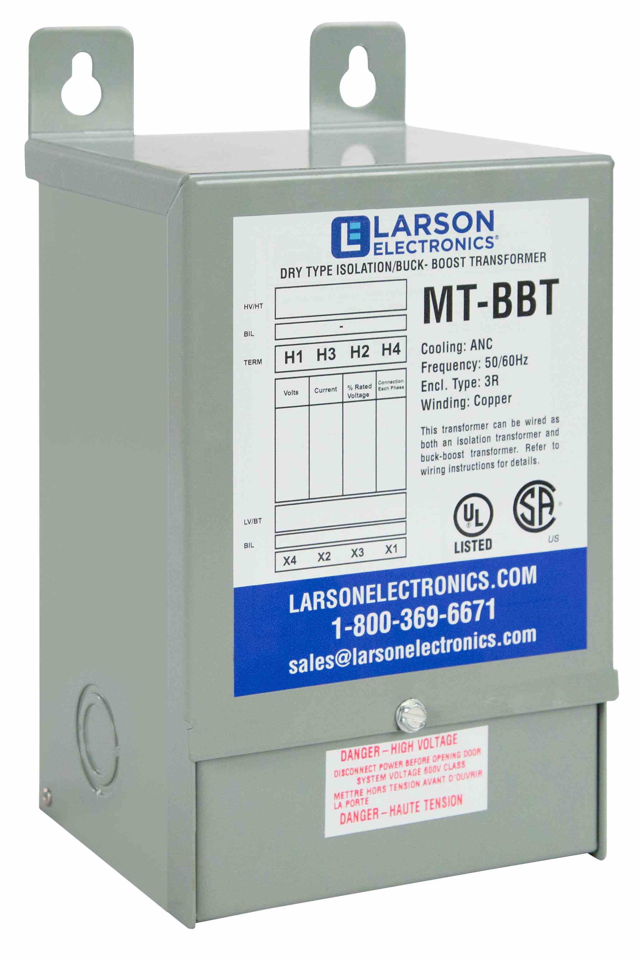 Larson Electronics Llc Releases Single Phase Buck Boost Step Up Transformer Explosion Proof