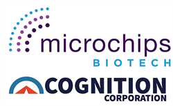 Microchips Biotech and Cognition Corporation Logos