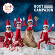 The Elf on the Shelf® supports The Boot Campaign's Santa Boots program