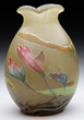 Galle Marquetry Nenuphars Vase, estimated at $60,000-80,000.