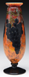 Schneider Wheel Carved Grape Vase, estimated at $7,000-10,000.