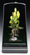 Paul Stankard Botanical Sculpture, estimated at $7,000-9,000.