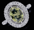 14kt Gold, Chrysoberyl, And Diamond Ring, estimated at $2,500-3,500.