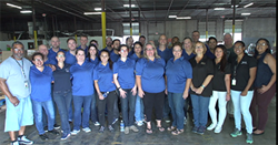 AcctTwo Employees at the Houston Food Bank