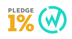 Pledge 1% and WillowTree, Inc. Logos