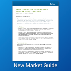 Atmosera cited by Gartner as a Representative Vendor in the Market Guide for Cloud Service Providers to Healthcare Delivery Organizations