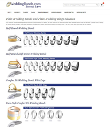 WeddingBands.com Offers Different Finishes on Plain Wedding Bands Free...