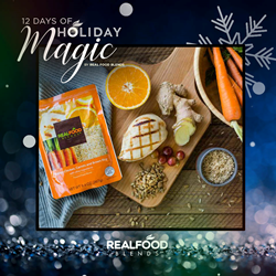 12 Days of Holiday Magic by Real Food Blends
