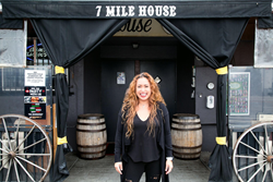 Vanessa Garcia, 7 Mile House owner and historian