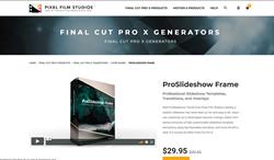 ProSlideshow Frame - PFS Plugins - Final Cut Pro