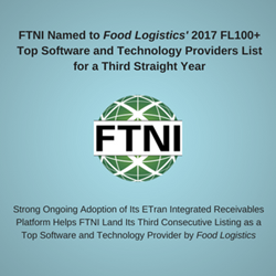 FTNI Integrated Receivables Named to FL100+ List for Third Straight Year