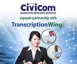 Civicom expands partnership with TranscriptionWing