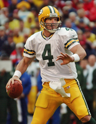 Brett Favre, shrine game, college football allstar game, hall of fame