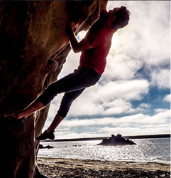 New experiences, like rock climbing, re-direct and support a sober lifestyle.