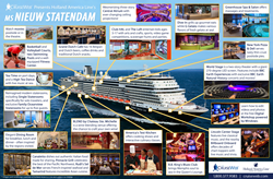 The Cruise Web's infographic previews ms Nieuw Statendam