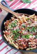 Spicy Penne made with Dreamfields Pasta is a delicious healthy dish for the entire family