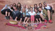 Goddess participants at Birthing Cave