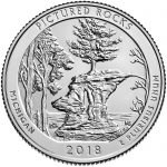 Pictured Rocks National Lakeshore Quarter Reverse