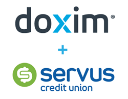 Servus and Doxim logos