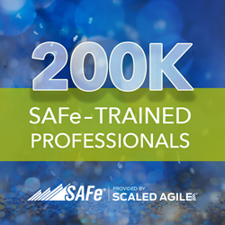 Scaled Agile celebrates milestone: 200k SAFe-trained professionals
