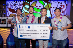iichiko BLŪ Bartender Competition winners