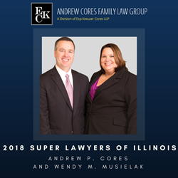 Andrew P. Cores and Wendy M. Musielak named 2018 Super Lawyers of Illinois