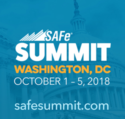 Registration is open for the 2018 Global SAFe Summit at safesummit.com