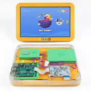 Both sides of the DIY tablet for kids