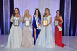 Third runner-up Dee Lane; First runner-up Sarah Blanton Ramsey; Ms. America® 2018 Brittney Wagner; Second runner-up Sherrie Gearhart, and Fourth runner-up Tina Abbantangelo.