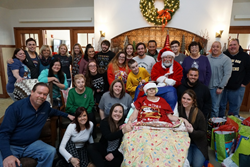 Center for Hope Hospice creates Christmas in February for terminally ill patient