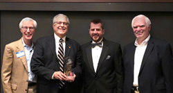 Grand Rapids Ophthalmology's Gregory Patera, OD, was awarded the Dr. Mark Sheldon Lifetime Achievement Award at the 13th Annual Grand Rapids Lions Club 'Blind Dinner Date' which took place Thursday, March 8.
