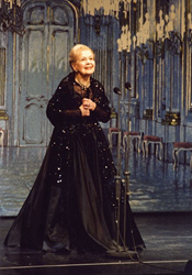 Marta Eggerth in Vienna in 2001; photo by Rolf Bock