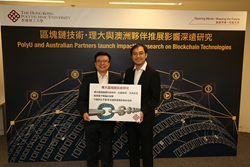 Dr Henry Chan (left), Associate Head and Dr Allen Au (right), Assistant Professor of PolyU's Department of Computing