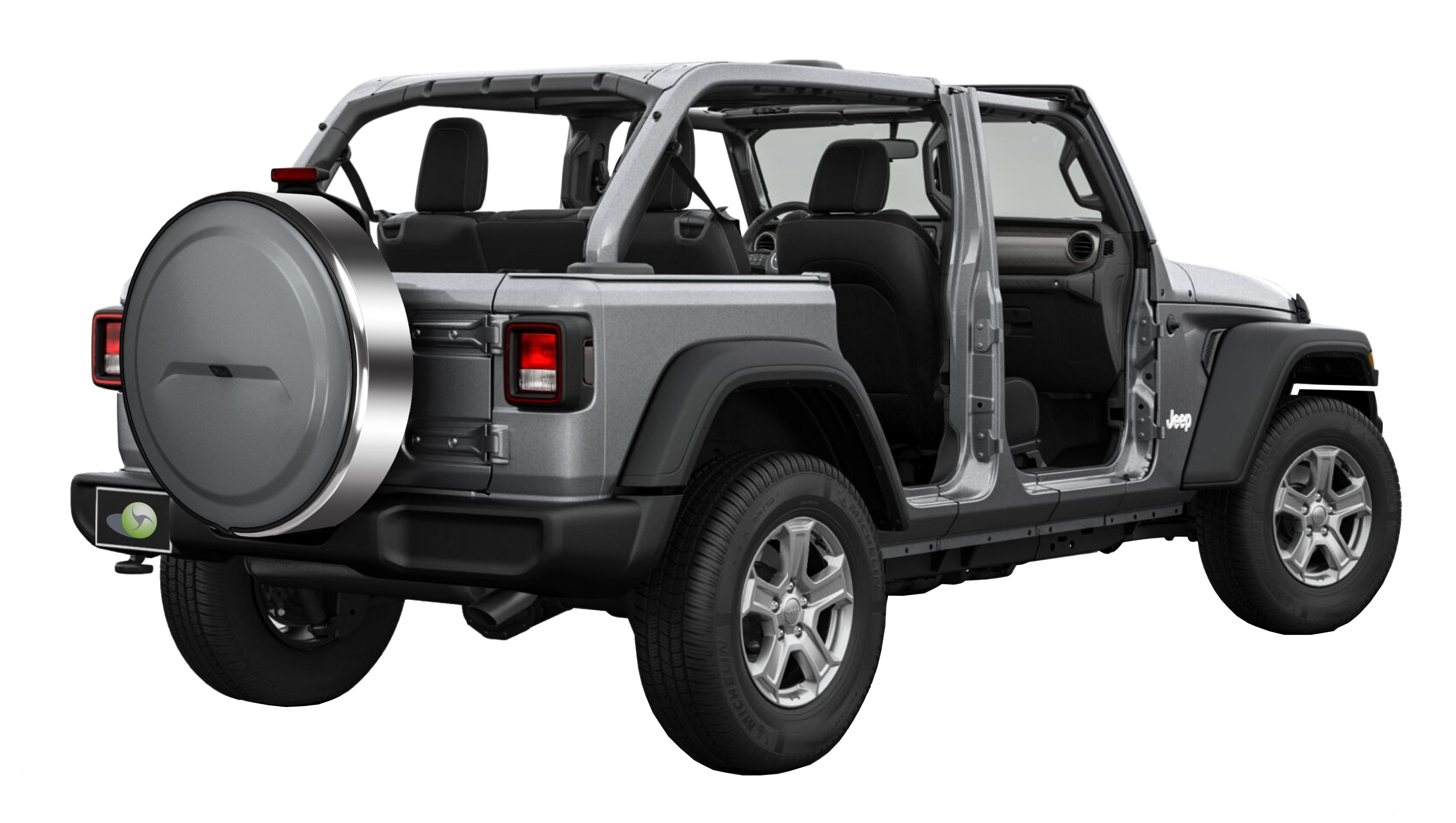 Jeep Wrangler Paint >> Boomerang Launches Tire Cover Line Designed for New Jeep Wrangler JL Backup Camera System