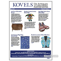 kovels, antiques, collectibles, prices, vintage rugs, boucher, costume jewelry, indian clothing