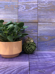 Ultra Violet color is the newest offering in Pioneer Millworks Thoughtful Sophistication™ collection, which continues to break reclaimed and sustainable wood out of its stereotypical 'barn wood' category