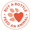 Skout's Honor Paw Pledge - Buy a bottle, feed an animal!  With every bottle sold, we donate a day's worth of meals to an animal in need.